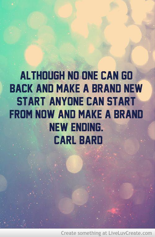 brand new beginning