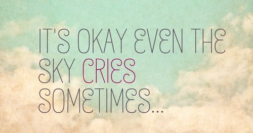 even sky cries