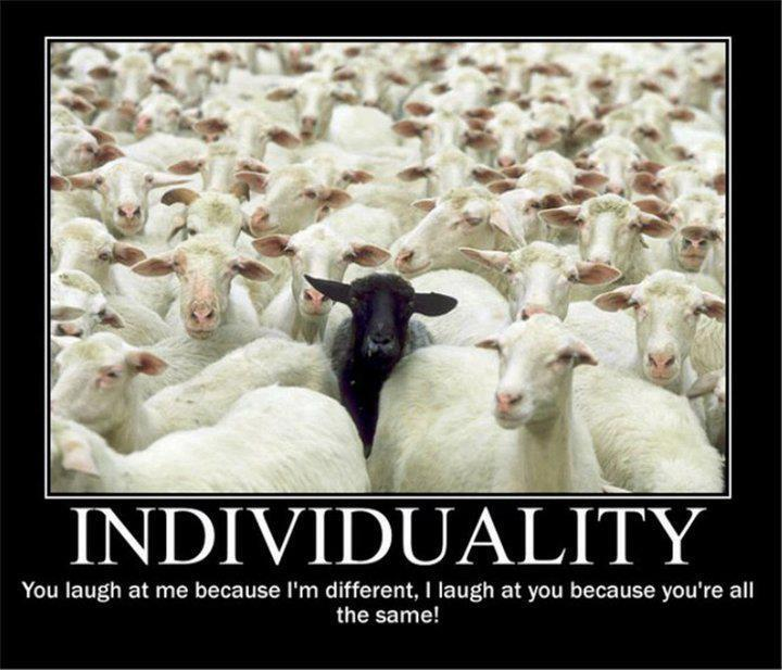 individuality laugh